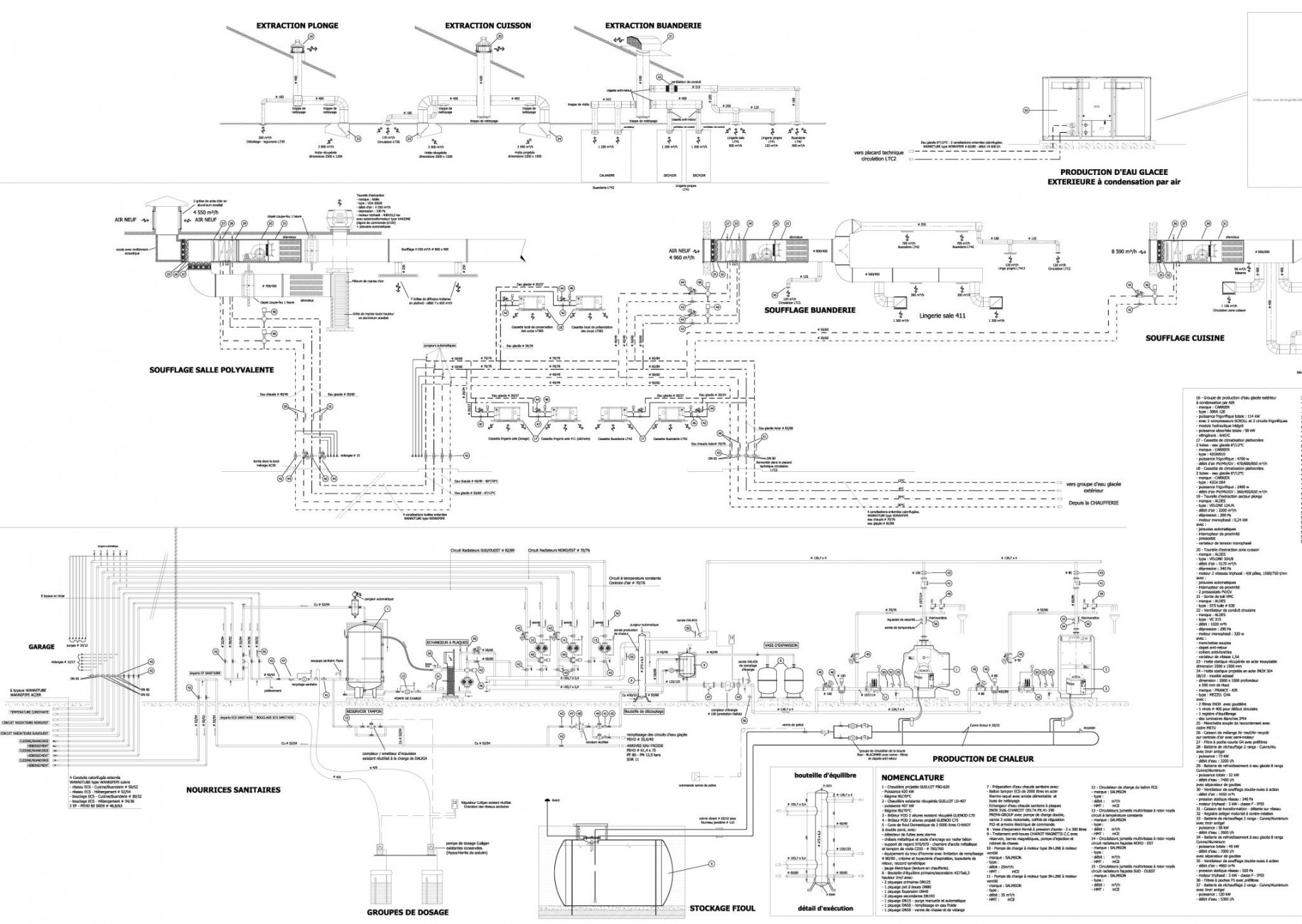Pict0002 · pict0025 · s mes dossiers archives culhat det plans à jour culhat exe2 décembre 2005 schema de chaufferie présentation1 1