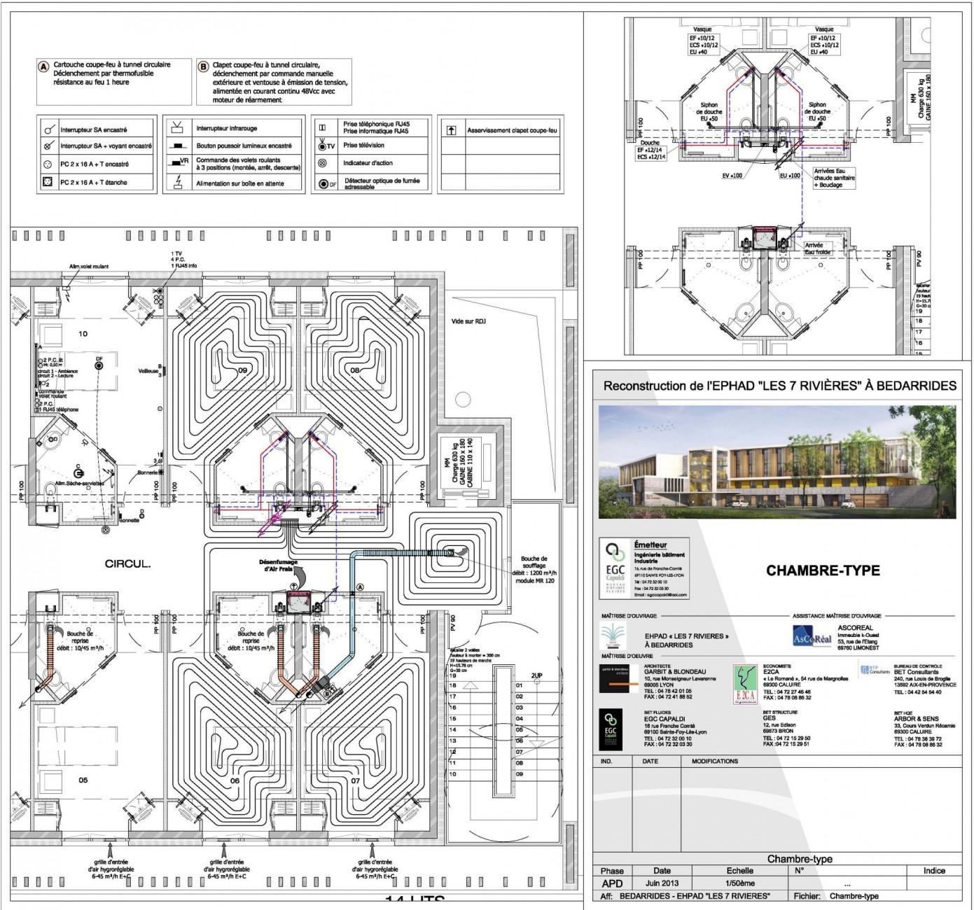 Reconstruction De L Ehpad 171 Les 7 Rivi 232 Res 187 224 B 233 Darrides Egc Capaldi