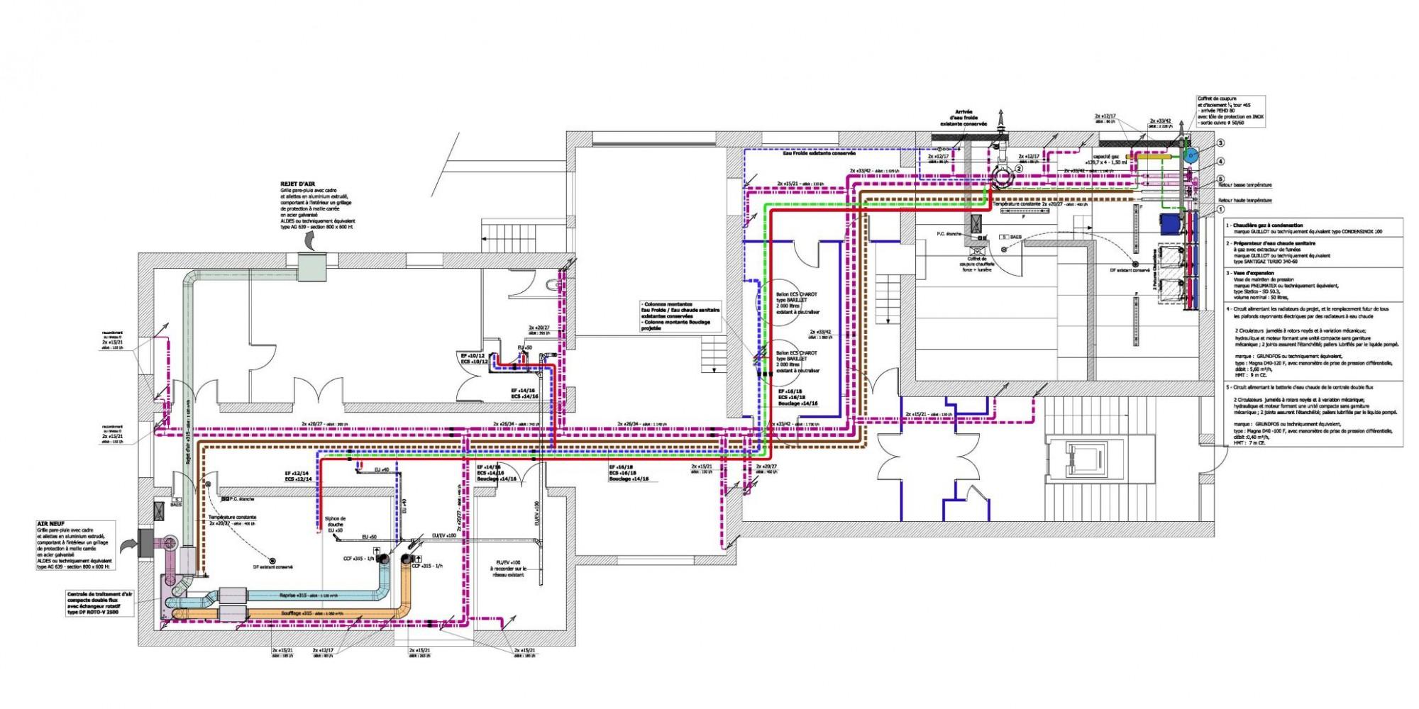 Maison de retraite les glycines amplepuis cr ation for Plomberie salle de bain au sous sol